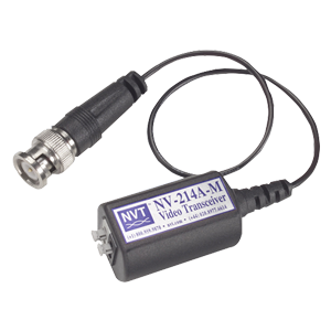 Single Channel Video Passive Transceiver with Coax Pigtail