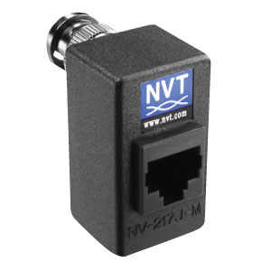 NV-217J-M Single Channel Passive Video Transceiver Hub